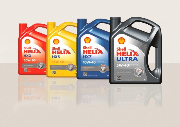 New enhanced Shell Helix product range