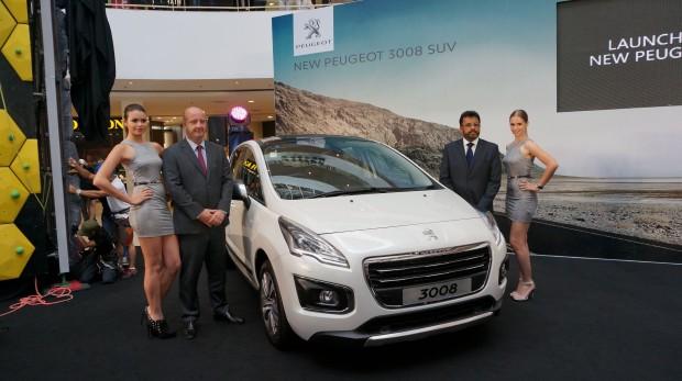 New Peugeot 3008 Launch