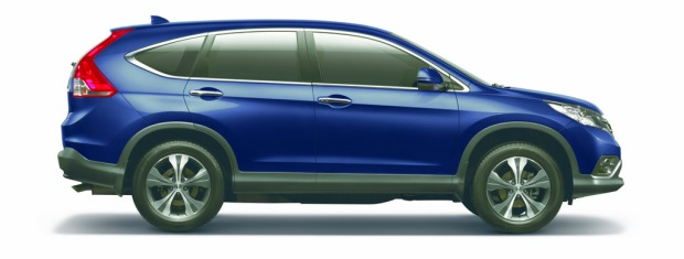 CR-V_Premium Smart SUV with a comprehensive set of safety features.