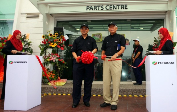 official launch of the New Parts Centre