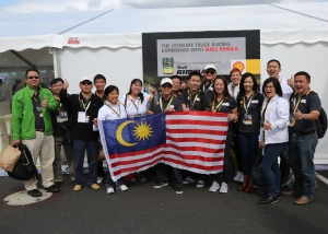 The Malaysian Team at the Autodrom Most Circuit