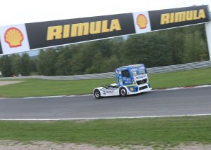 Truck racing on the Autodrom Most Circuit