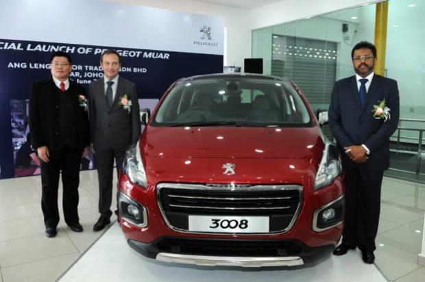 Peugeot Muar Launch 1