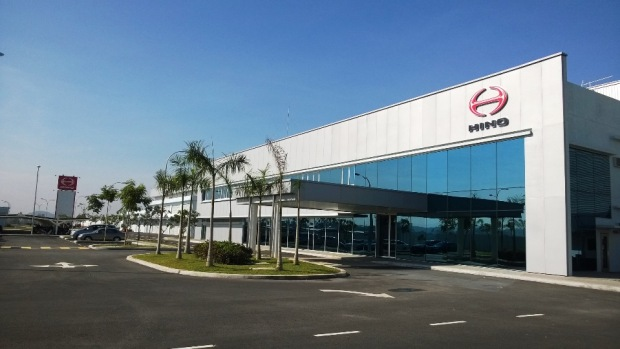 Hino Motors Manufacturing Malaysia plant in Sendayan_Office Block_2