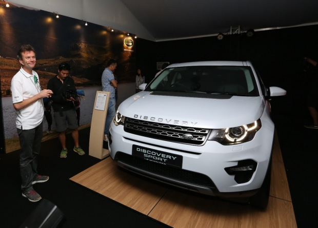 Ian Seggar of Jaguar Land Rover Asia Pacific gave a preview of the soon-to-be-launched Land Rover Discovery Sport