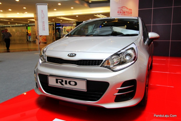 Kia Rio Facelift